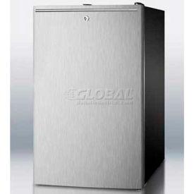 "Summit FS408BLSSHHADA - ADA Comp 20""W All-Freezer, -20°C Capable, Lock, Horizontal Handle, BK"
