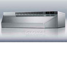 """Summit H1620SS - 20""""W Convertible Range Hood For Ducted Or Ductless Use, S/S"""