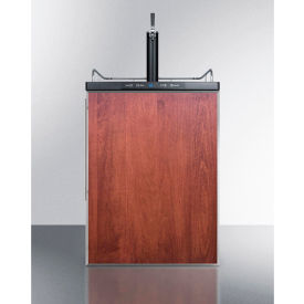 """Summit SBC635MBIFR Beer Dispenser, Built-In Residential, 5.6 Cu. Ft., 24""""W x... by"""