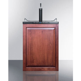 """Summit SBC635MBIIF Beer Dispenser, Built-In Residential, 5.6 Cu. Ft., 24""""W x... by"""