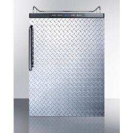 "Summit SBC635MBINKDPL Beer Dispenser, Built-In Residential, 5.6 Cu. Ft., 24""W x... by"