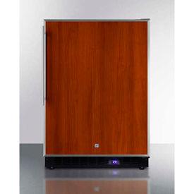 "Summit SCFF53BFR - Frost-free Built-in Undercounter All-Freezer, Black, 4.72 Cu. Ft, 23-5/8""W"