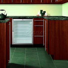 Summit SCR600BLBITB - Commercial Built-In Beverage Refrigerator, Black, Glass Door, Lock, TB Handle