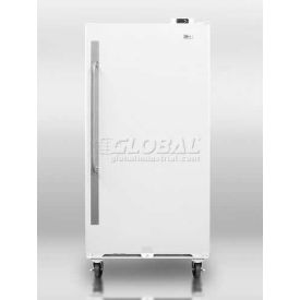 Summit SCUR18 Frost-Free All Refrigerator 16.7 Cu. Ft. White