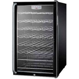 "Summit SWC525LBISHADA - ADA Comp 20""W Wine Cellar For Built-In Use, Lock, Full-Length"