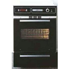 Summit TTM7212DK - Glass Gas Wall Oven, Electronic Ignition, Window, Black