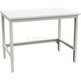 "Sovella Cornerstone-WS Workstation, ESD, 60""W X 24""D X 28-5/6 to 36""H, Grey-35"