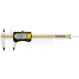 """Asimeto 7307065 Factory Calibrated Digital Caliper w/ Thumb Wheel 0-6"""""""