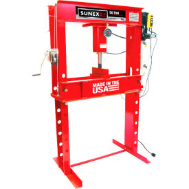 Sunex Tools 5750EP - 50 Ton Electric Shop Press - Fully Welded - Made in USA