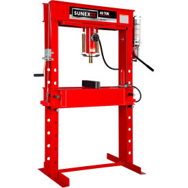 Sunex Tools 5740AH - 40 Ton Air/Hydraulic Shop Press - Fully Welded - Made in USA