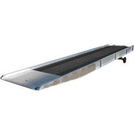 Vestil Aluminum Yard Ramp SY-208436-L with Steel Grating 36'L 20,000 Lb. Cap.