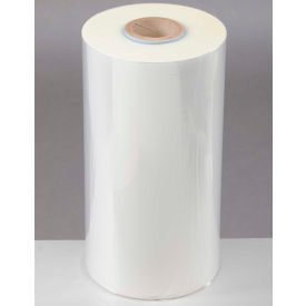 "Polyolefin Shrink Film 34""W x 1,750'L150 Gauge Clear, High-Flexibility Anti-Fog"