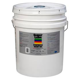 5 Gal. Pail Super Lube® Synthetic Gear Oil ISO 220