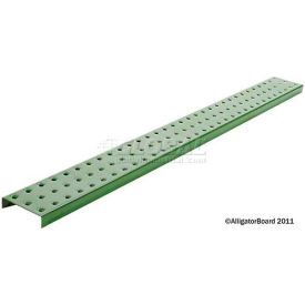 Pegboard Strips - Powdercoat Green 3 x 32 (2 pc)