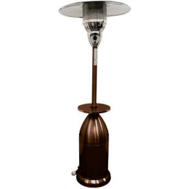 "AZ Patio Heaters HLDS01-TCGT 87"" Tapered Patio Heater Bronze Hammered by"