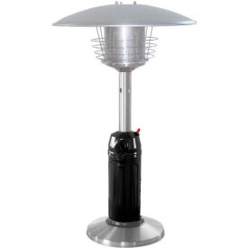 AZ Patio Heaters HLDS032-BSS Portable Black Body Patio Heater Stainless Steel by