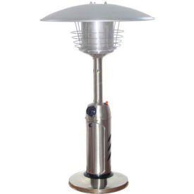 AZ Patio Heaters HLDS032-B Portable Patio Heater Stainless Steel by
