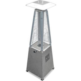 AZ Patio Heaters HLDS032-GTTSS Portable Glass Tube Patio Heater Stainless Steel by