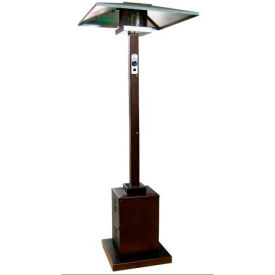 AZ Patio Heaters HS-HG Tall Commercial Outdoor Patio Heater Hammered Gold by