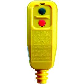 GFCI Plug 30334010-08, Right Angle, Manual, Yellow