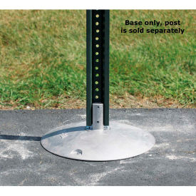 "Tapco® 6 lbs. Aluminum Base with Nub, 15"" Dia., For 2-3/8"" O.D. Round or 2"" Square Posts"