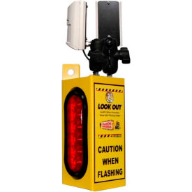Collision Awareness Forklift Sensor, Look Out 1 Model, 1 Box, 2 Sensors, 2 Lights, 25' Cord
