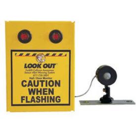 Collision Awareness Basic Hall Door Monitor, Wall Mount, 1 Box, 1 Remote Sensor, 2 Lights, 15' Cord