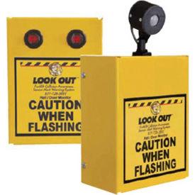 Collision Awareness Hall Door Monitor, Wall Mounted, 2 Boxes, 1 Sensor, 2 Lights, 15' Cord