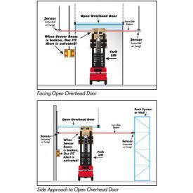 Collision Awareness FIT Package Warning Sensor, 1 Dbl Box, 2 Sensors, 2 Lights, 15' Cord