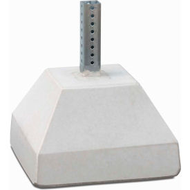 "Tapco® 250 lbs. Concrete Base with 18"" Nesting Sleeve (Accepts 2"" Square Post)"