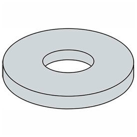 "1/8"" Fender Washer - .16"" I.D. - .047/.08"" Thick - Steel - Zinc - Grade 2 - Pkg of 100"