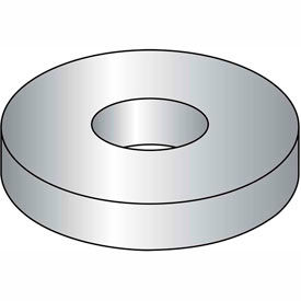 "#8 Flat Washer - SAE - 3/16"" I.D. - Steel - Zinc Plated - Grade 2 - Pkg of 100"