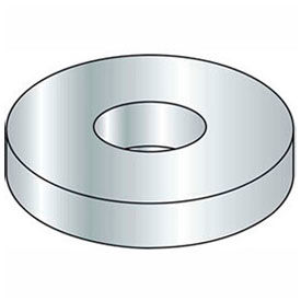 "1"" Flat Washer - SAE - 1-1/16"" I.D. - Steel - Zinc - Grade 2 - Pkg of 1 Lb."