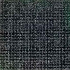 "Waterhog Classic Carpet Tile 21055716000, Square, 18""L X 18""W X 7/16""H, Red/Black, 10-PK"