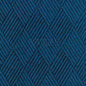"Waterhog Classic Carpet Tile 2165614000, Diamond, 18""L X 18""W X 1/4""H, Medium Blue, 12-PK"