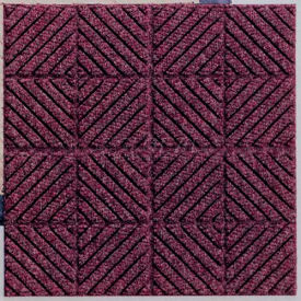 """Waterhog Classic Carpet Tile 21953716000, Diagonal, 18""""L X 18""""W X 7/16""""H, Light Green, 10-PK"""