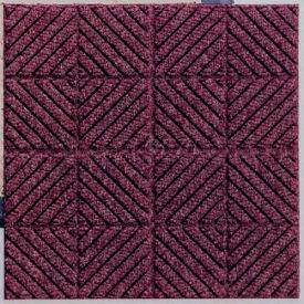 "Waterhog Classic Carpet Tile 21956716000, Diagonal, 18""L X 18""W X 7/16""H, Medium Blue, 10-PK"