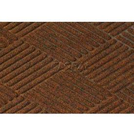 Waterhog Fashion Diamond Mat - Dark Brown 4' x 10'