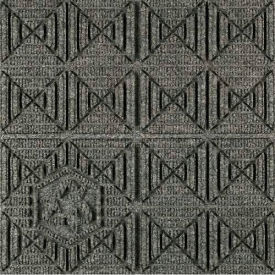 """Waterhog Eco Premier Carpet Tile 22157714000, Geometric, 18""""L X 18""""W X 1/4""""H, Regal Red, 12-PK"""