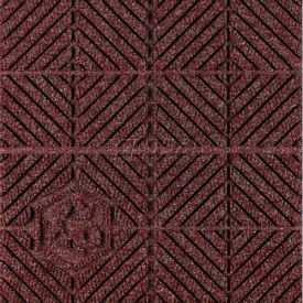 """Waterhog Eco Premier Carpet Tile 221773716000, Diagonal, 18""""L X 18""""W X 7/16""""H, Grey Ash, 10-PK"""
