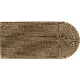 "WaterHog Eco Grand Elite 3/8"" Thick One End Entrance Mat, Khaki 3' x 5'5"""