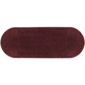 "WaterHog Eco Grand Elite 3/8"" Thick Two Ends Entrance Mat, Maroon 4' x 8'"
