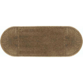 "WaterHog Eco Grand Elite 3/8"" Thick Two Ends Entrance Mat, Khaki 3' x 11'7"""
