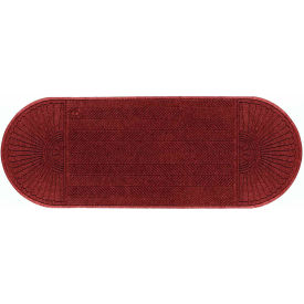 "WaterHog Eco Grand Elite 3/8"" Thick Two Ends Entrance Mat, Regal Red 4' x 12'6"""