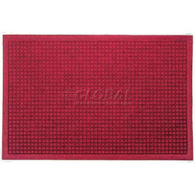 Waterhog Fashion Mat - Red/Black 4' x 8'