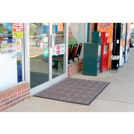 "WaterHog Diamondcord 3/8"" Thick Entrance Mat, Brown Cord 3' x 16'"