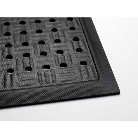 Cushion Station W/ Drainage Holes, Black 2' x 3-1/5'