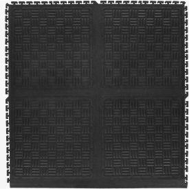 "Cushion Station Modular Side Without Holes, Black, 36"" x 37-3/8"""