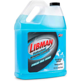 Libman Professional Window Cleaner, Gallon Bottle - 1064 - Pkg Qty 4