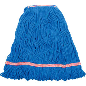 Libman Commercial 24 Oz. Blended Wet Mop Head - Blue - Pkg Qty 6